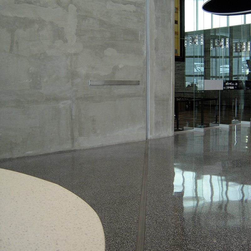 Airport Floor Expansion Joint Updgrade To First Class At