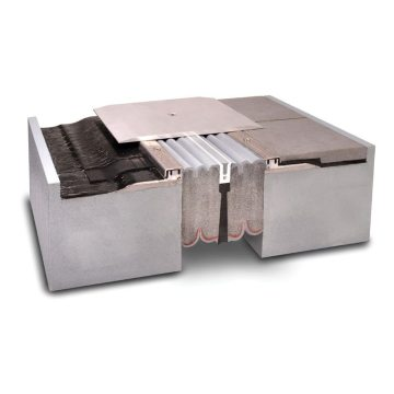 EMSEAL Emshield SJS-FP-FR 1-hour 2-hour UL2079 fire-rated seismic plaza deck or split slab expansion joint