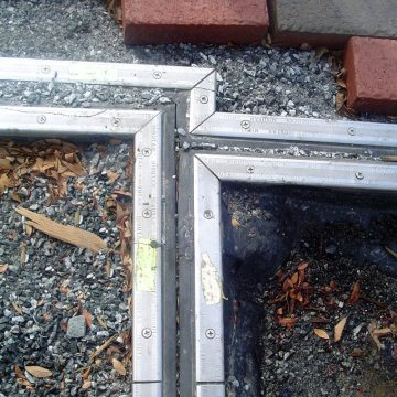 Accurate field measurements translated into factory-fabricated transitions allowed for accommodation of slipped and misaligned concrete forms saving time and money in concrete rework.