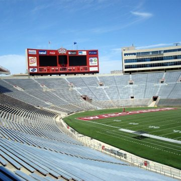 DSM System installed in the University of Wisconsin Stadium