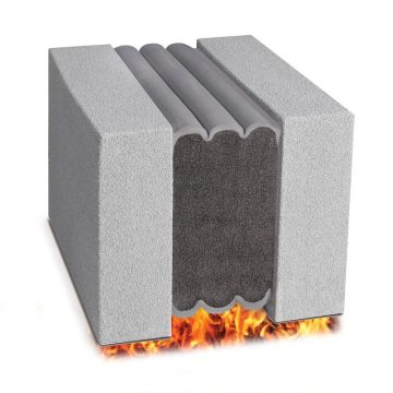 Fire rated expansion joint Emshield DFR2 from EMSEAL