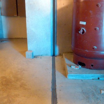 NH Berlin Federal Prison DFR2 installation into floor and wall expansion joints EMSEAL