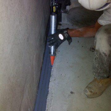 NH Berlin Federal Prison DFR2 installation into floor expansion joints sealant band EMSEAL