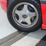Thermaflex with Emcrete nosing material installed in Zurich Insurance Parking Garage.