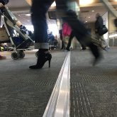 Airport expansion joints see it all. From high heels to low rollers, Migutrans FS 75 handles it all at BWI.