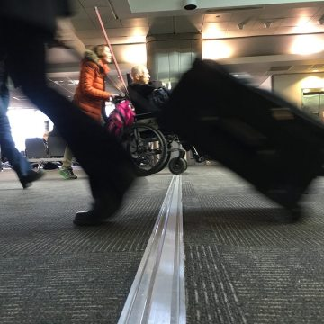 Bone-jarring bumps over floor expansion joints are a thing of the past at BWI. Migutrans FS 75 made sure of it.