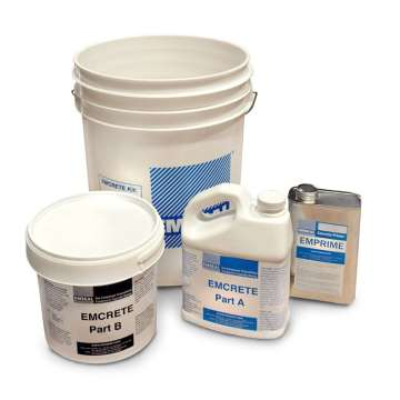 Elastomeric Concrete: Emcrete expansoin joint patching and nosing material elasomeric concrete by EMSEAL - Copy