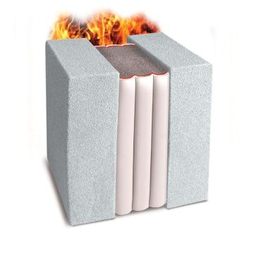 Fire rated wall movement joint - Emshield WFR3 Expansion Joint 3-hour Fire-Rated Wall from EMSEAL