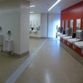 CA 49ers Interior Floor expansion joint bathroom SJS System EMSEAL