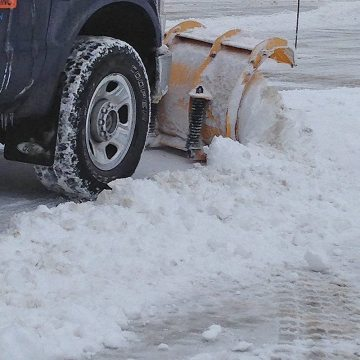 Snow plowing DSM System parking expansion Joint EMSEAL