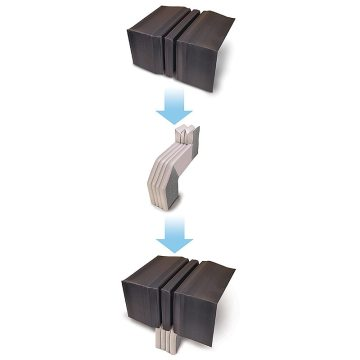 RoofJoint and RoofJoint Closures provide the first purpose-designed transition from roof expansion joints to wall expansion joints