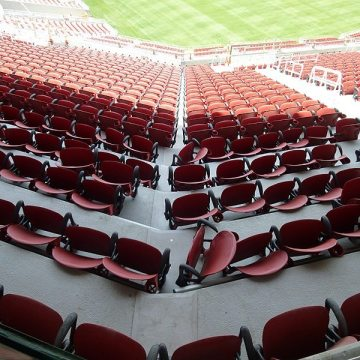 Custom-made tread plates for SJS System in Levis Stadium