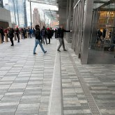 Hudson Yards, NYC, SJS from Emseal in plaza deck pavers