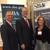 Hensley EMSEAL Heims and Charlie Baker SBA Awards