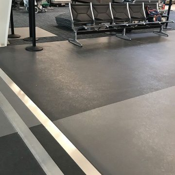 Airport expansion joint aesthetics. EMSEAL SJS-FR
