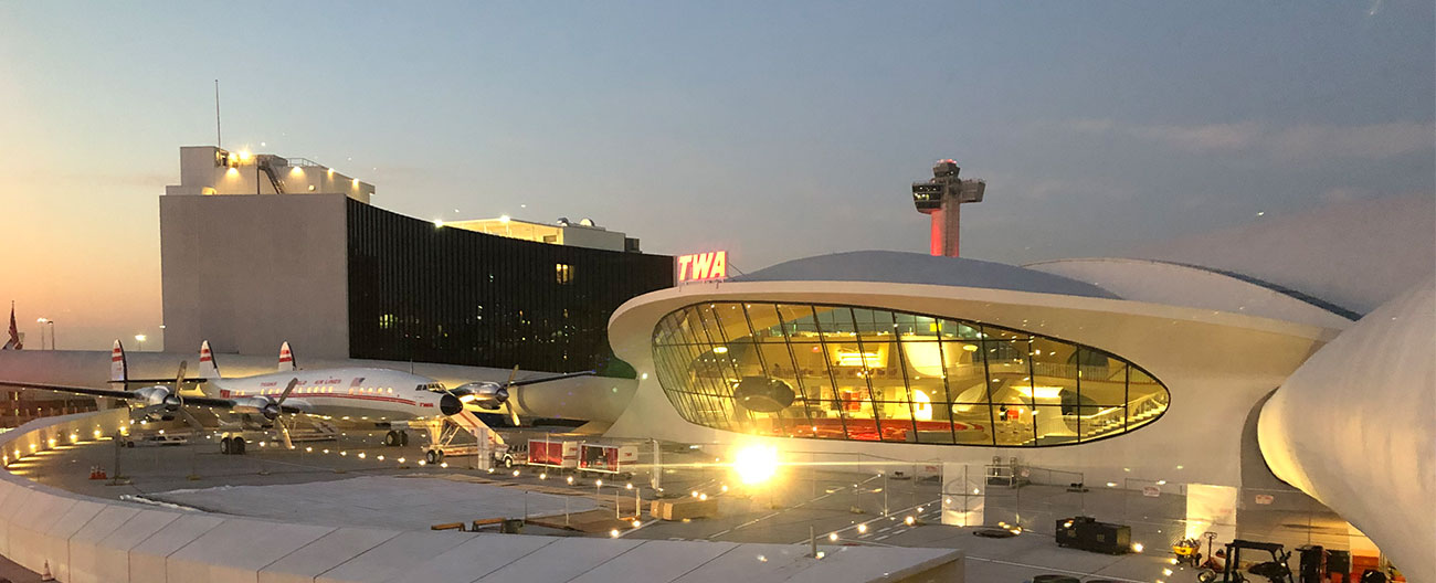 Curtainwall Expansion Joints at TWA Hotel at JFK Airport by Emseal