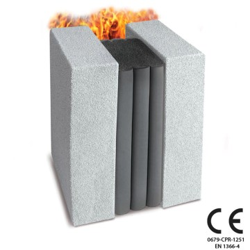 CE Wall Movement Joint Fire Rated up to 4 Hours. Emshield DFR / WFR CE