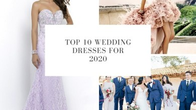 Photo of Top 10 Wedding Dresses for 2020