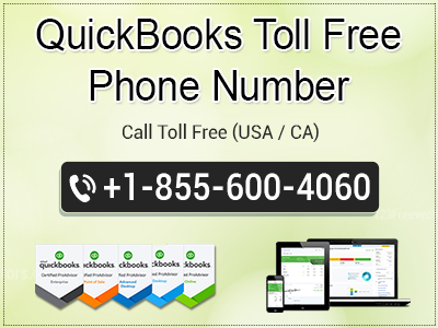 QuickBooks Toll Free Phone Number