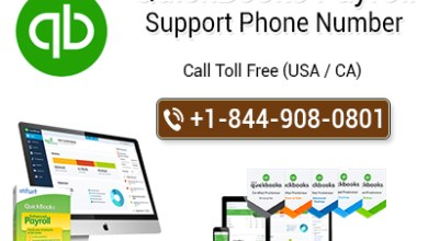 Photo of QuickBooks Payroll Support Phone Number    1-844-999-0406