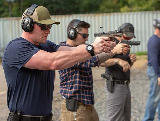 DC Handgun Training