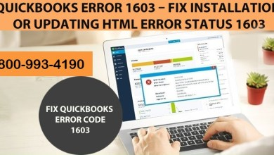 Photo of Fix Error 1603 when Update and Installing QuickBooks Desktop