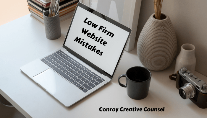 Law Firm Website Mistakes