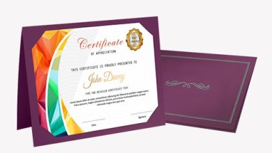 Photo of Custom Certificate Holders – for escalated brand recognition