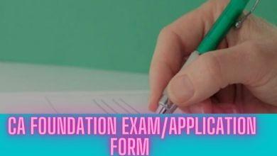 Photo of Know how to Fill CA Foundation Nov 2020 Exam Form
