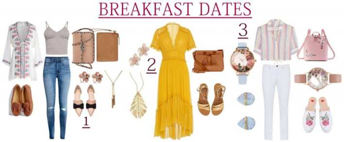 What to Wear to Impress Your Love at morning breakfast