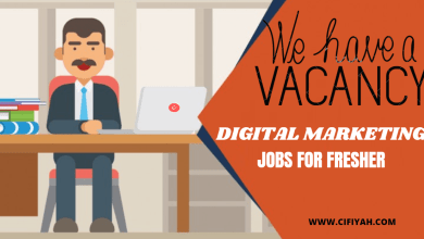 Photo of DIGITAL MARKETING JOBS FOR FRESHER