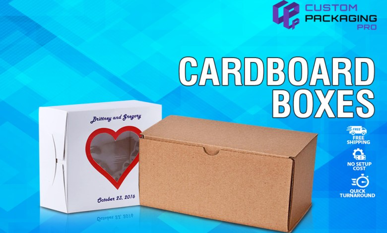 Printed Cardboard packaging