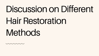 Photo of Discussion on Different Hair Restoration Methods
