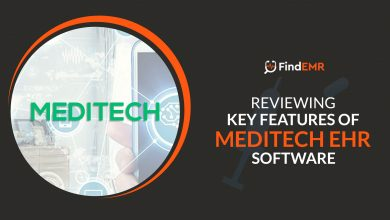 Photo of Reviewing Key Features of Meditech EHR Software