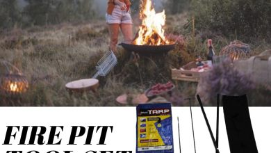 fire pit tool set