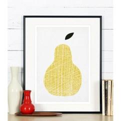 Kitchen Art Kohler Faucet Repair Print Yellow Pear Emu Gallery Home Interiors