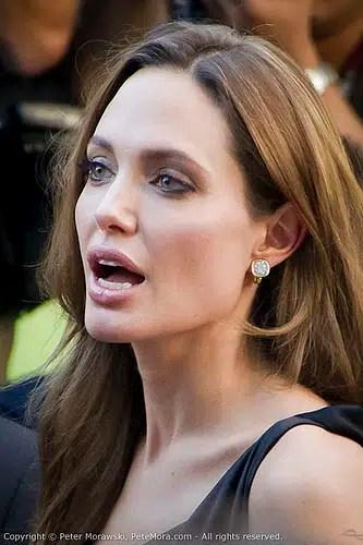 Angelina Jolie apareció públicamente luego de su desmayo