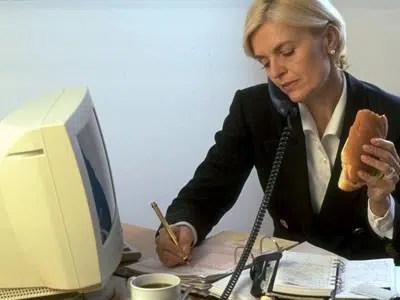 Aprende cómo perder peso en el trabajo