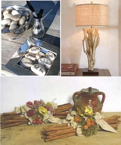 Aprovecha la naturaleza para decorar tu casa
