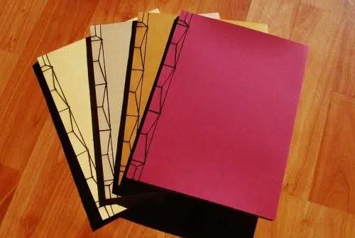 Block de notas de papel reciclado