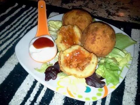 Bombas de patata