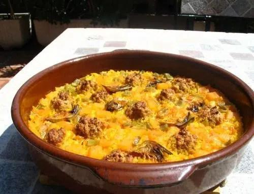 Cocina Tradicional: Arroz a Banda