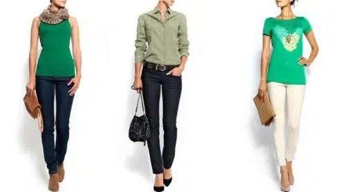 Como combinar los tonos de la ropa