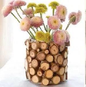 Cómo hacer un bonito florero