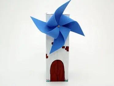 C mo hacer un divertido molino for Como hacer molinos de viento para el jardin