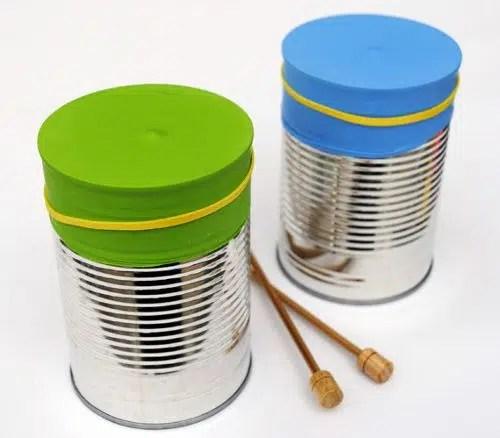 Cómo hacer unas maracas con latas