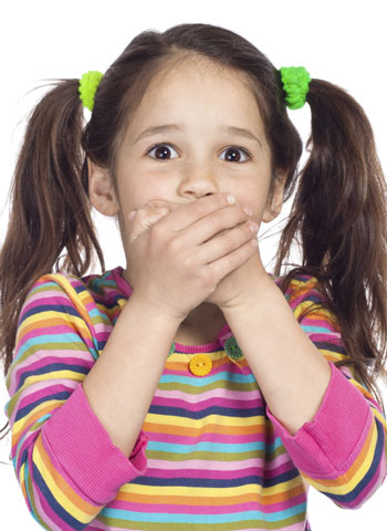 Cómo reaccionar cuando el niño dice palabrotas