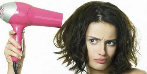 Como secarse el cabello después de lavarlo