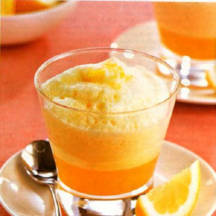 Crema de limón con merengue