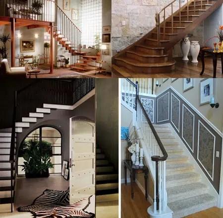 Decoraci n de escaleras interiores for Decoracion de escaleras